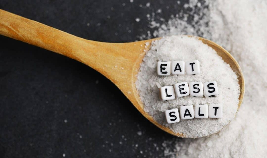 Kako zmanjšati količino soli?