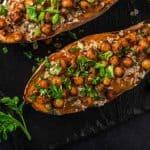 Sladki krompir s čičeriko in kvinojo
